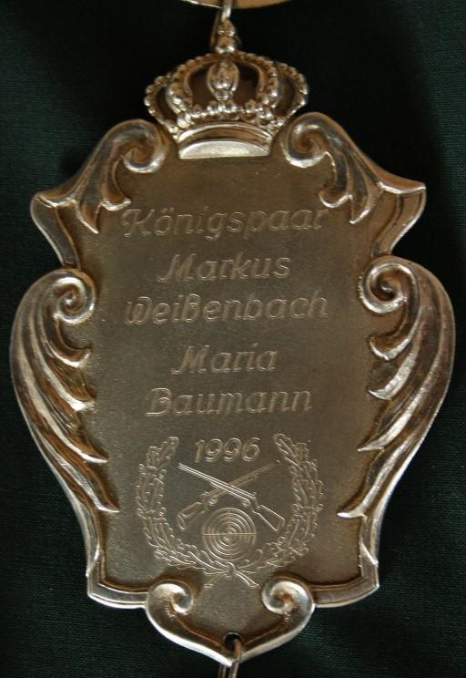 Königsplakette_1996
